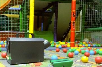 ozonowanie sali zabaw
